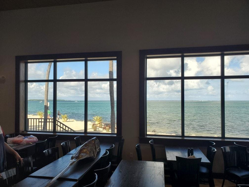 Shuck n Dive Islamorada restaurant view